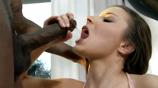 Interracial hot fucking between the horny people