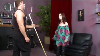 Corrupt dude wishing to fuck her lusty holes right here