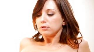 Small tittied raunchy sweet girl gets the breasts sucked off